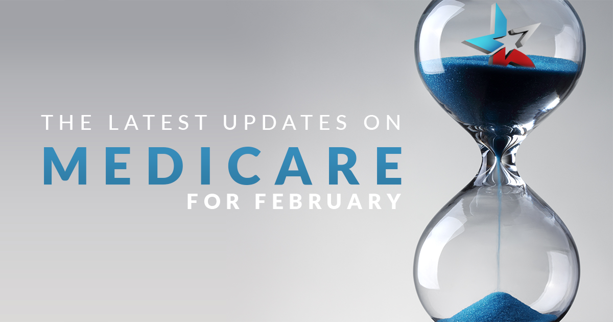 hourglass, Latest Updates on Medicare for February