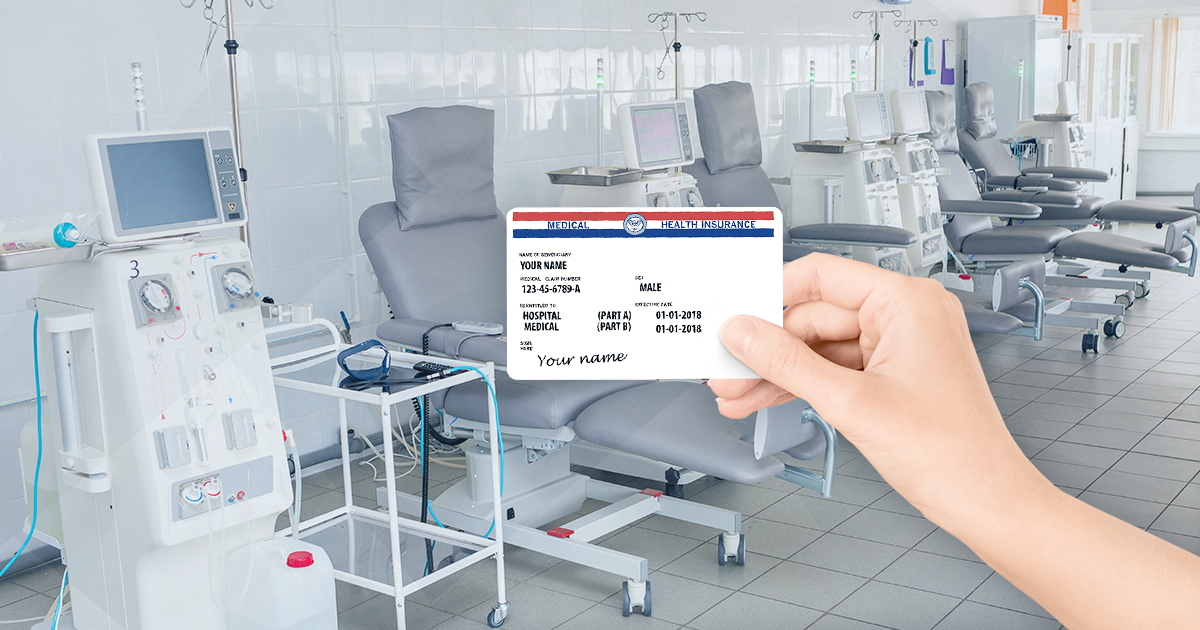 medicare card over dialysis center; what medicare covers for dialysis