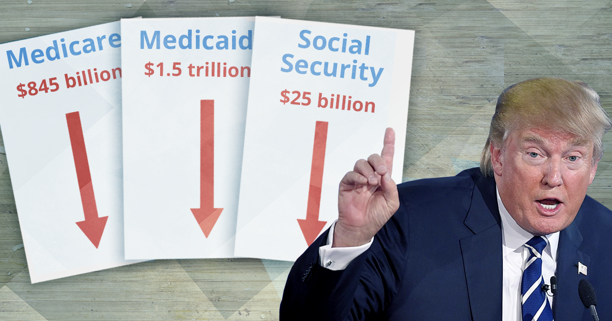 trump budget proposal slashes medicare, medicaid, social security