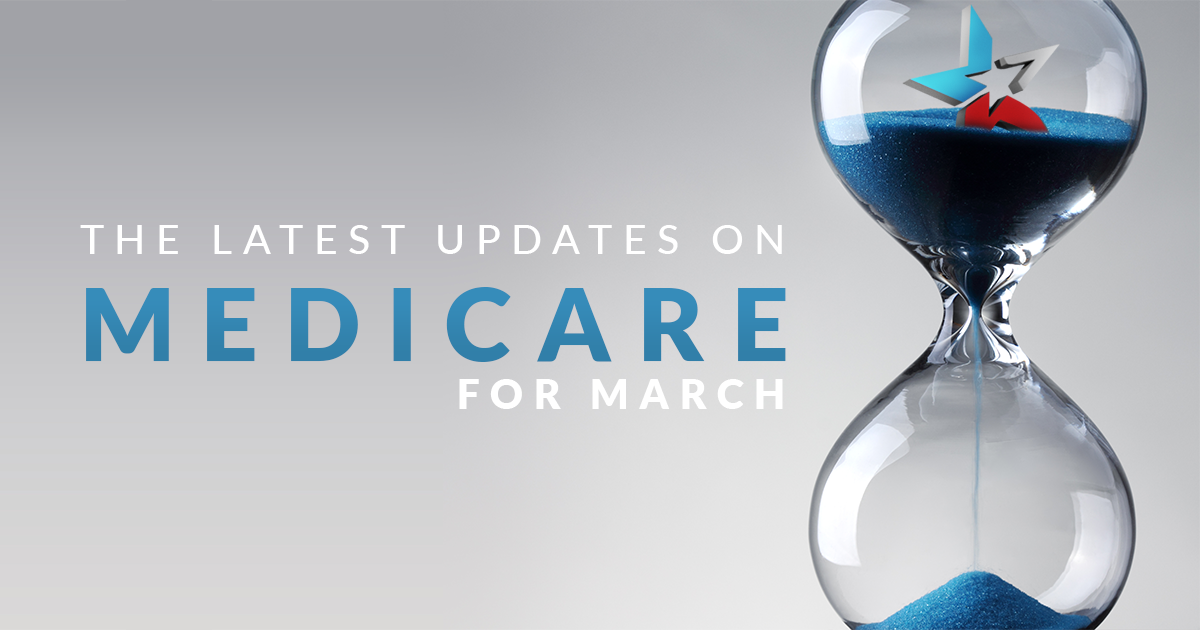 medicare news, latest updates, march 2019, hourglass, star