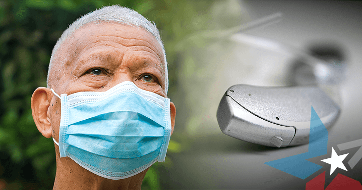 hearing loss, hearing, medicare, face mask